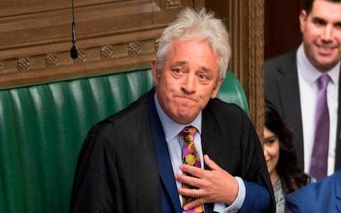 John Bercow could be given power to recall MPs if Boris Johnson refuses