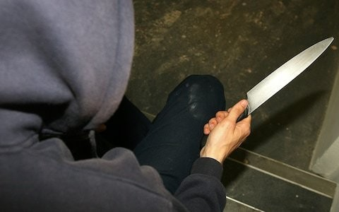 Knife crime rises to record levels in England and Wales as homicides hit highest in a decade