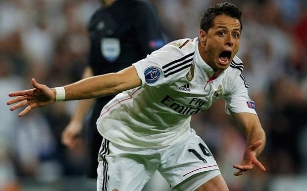 Thierry Henry slams Javier Hernandez for 'celebrating like he won the World Cup'