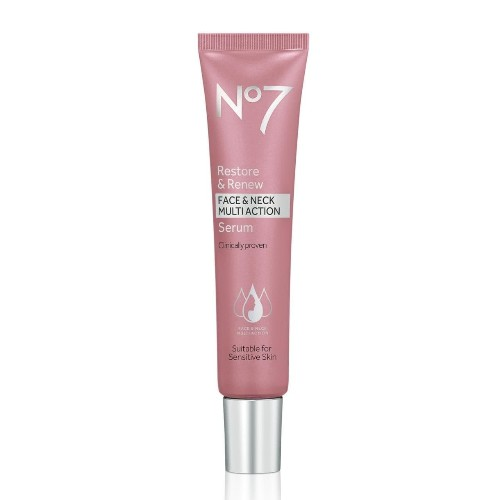 Can No7's new Restore and Renew serum really make you look 10 years younger?