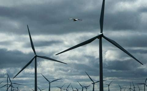 Wind farms paid £100m to switch power off