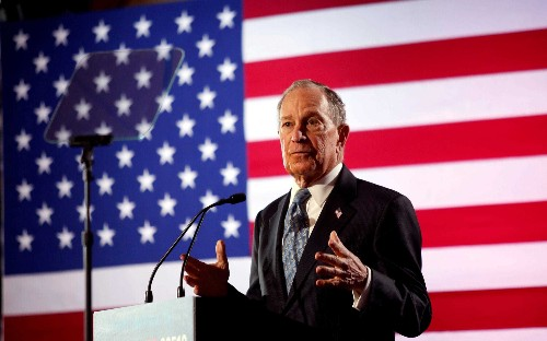 Mike Bloomberg attacks Donald Trump for leaving the US unprepared for coronavirus