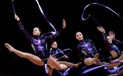 Rhythmic gymnastics is the much-neglected sister of the artistic variety in Britain - but why is this the case?