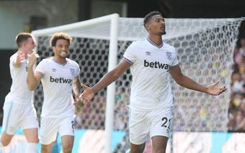 Sebastien Haller strikes twice as West Ham secure first win of season to add to Watford's problems