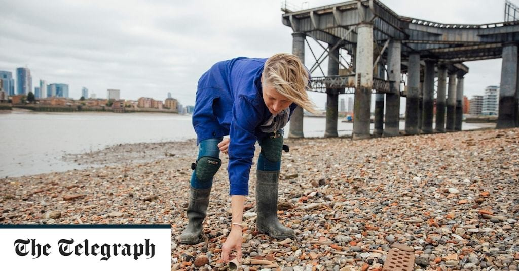 'The treasure I spent 15 years looking for in the Thames mud'