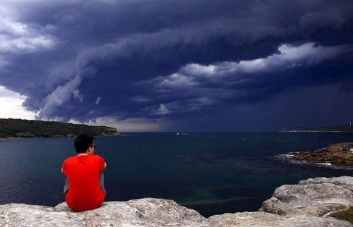 Cloud 'Tsunami': Powerful storms sweep across Sydney, Australia, in pictures - Telegraph