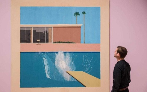 David Hockney's Tate Britain retrospective demands to be seen - review