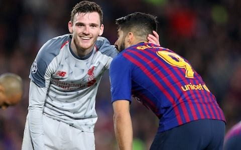 Exclusive: Andy Robertson charts Liverpool's road to Madrid - From despair in Belgrade to euphoria against Barcelona