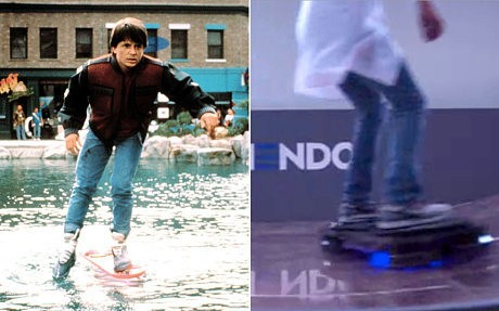 At long last: scientists create a real hoverboard