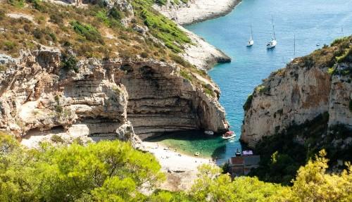 Hidden Croatian beach voted 'best in Europe'
