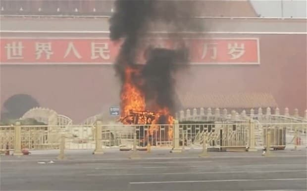 China captures five suspects over Tiananmen Square 'terror attack'