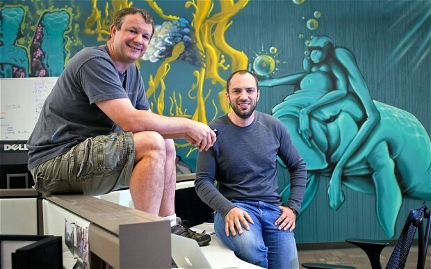 WhatsApp deal with Facebook gives co-founders happy end to journey from hardship and poverty