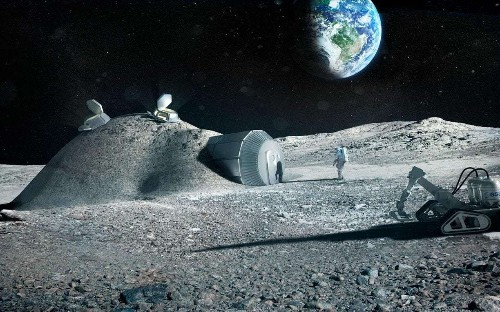 Steam-powered spacecraft could help humans colonise the Moon