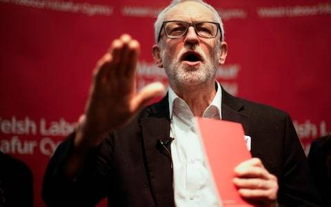 Labour activists accused of hurling anti-Semitic abuse at Jewish protesters during Corbyn rally