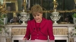 Nicola Sturgeon announces plans to trigger second independence referendum on Scotland's membership of the United Kingdom