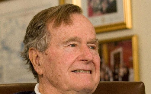 George HW Bush narrowly escaped comrades' fate of being killed and eaten by Japanese captors