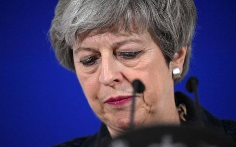 Theresa May couldn't sort out Brexit – so the EU is having to do it for her