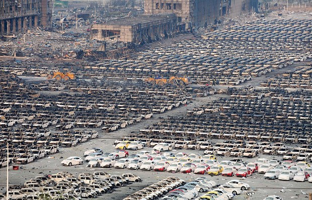 China blast: residents evacuated from Tianjin over chemical fears
