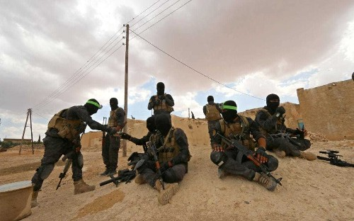 British special forces 'operating inside Syria alongside rebels'