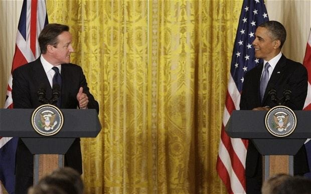 Labour slams Obama after endorsing David Cameron