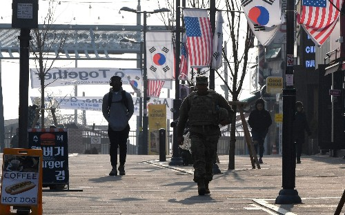 Thousands of Korean workers for US military put on unpaid leave as Trump demands more money