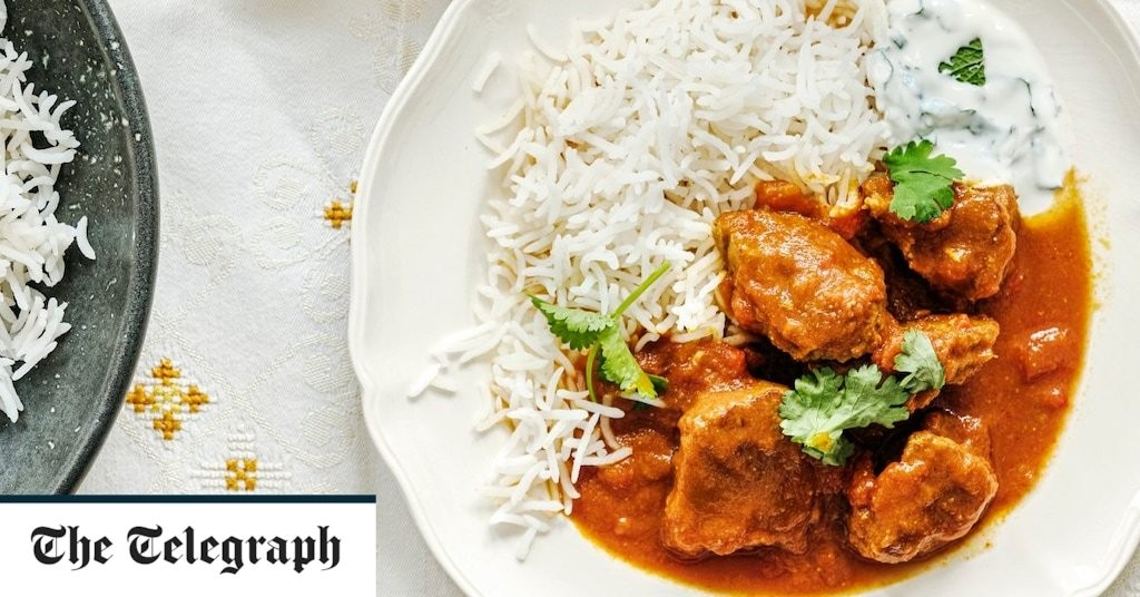 Lamb curry with ginger and chilli recipe