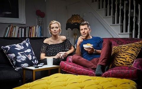 Celebrity Gogglebox, episode 1, review: Rachel Riley, Little Mix, Chris Eubank and a hefty glass of rosé
