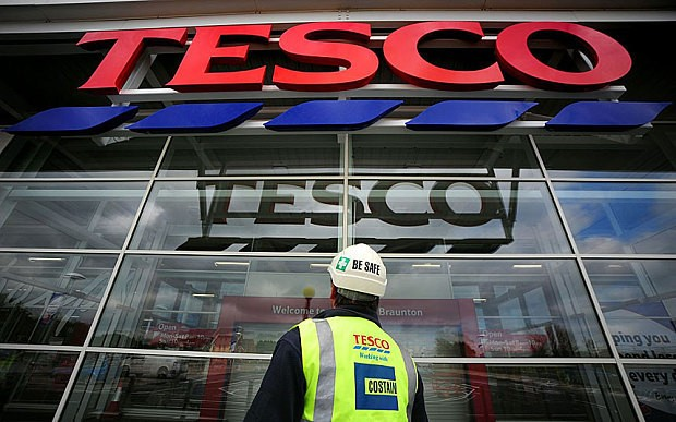 Tesco shares hit 11-year low as as retailer hit by double whammy