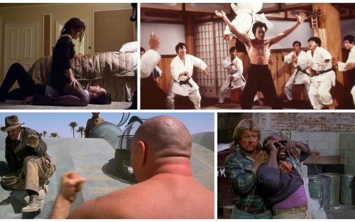 Does Indiana Jones beat Bruce Lee? The five greatest movie fight scenes ever made