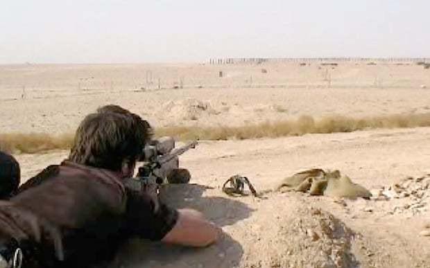 British Royal Marine is world's deadliest sniper
