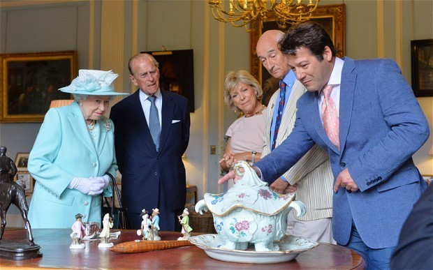 The Queen's Antiques Roadshow appearance