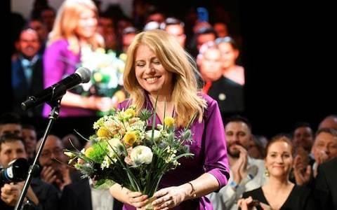Liberal lawyer Zuzana Caputova wins election to become Slovakia's first female president