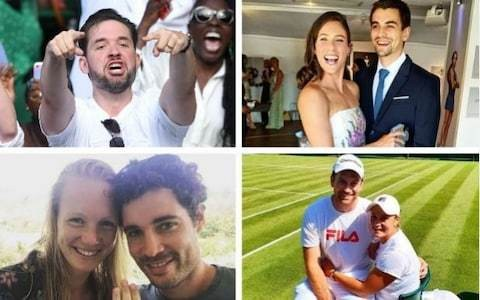 Who are the husbands and boyfriends of Wimbledon 2019?