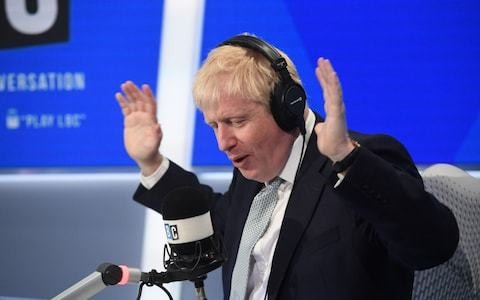 At last, the old Boris Johnson is back. And it's already total chaos