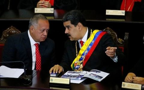Venezuelan number two Diosdado Cabello 'in secret talks with US', Trump administration official claims