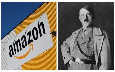 Amazon among retailers selling Hitler's Mein Kampf with neo-Nazi blurb