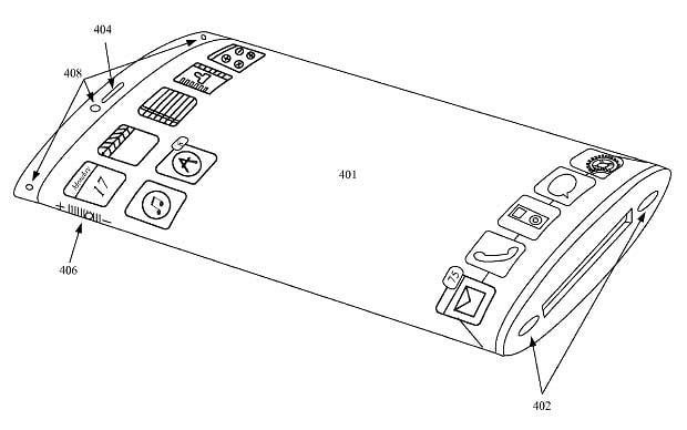 Apple designs iPhone with wraparound 3D display