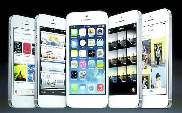 Apple 5s - Magazine cover