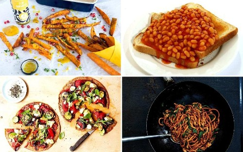 Beans on toast and a packet of crisps: eight surprisingly easy ways to get your five-a-day