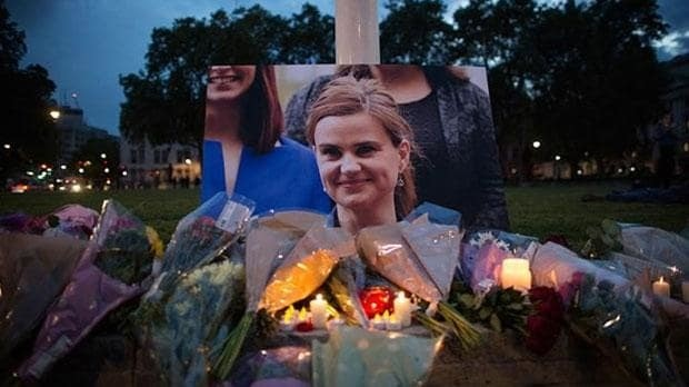 Jo Cox tributes: Husband of Jo Cox urges people to 'fight against the hatred that killed her' as tributes flood in for MP