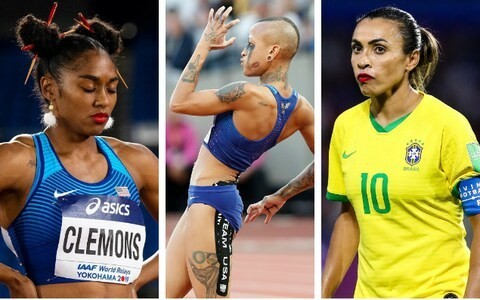 Athletes are able to show the world who they are with appearance, and the results can be empowering