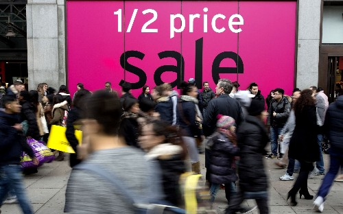 January retail sales sweep away Christmas gloom