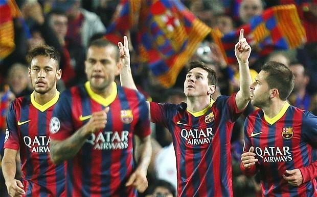 Barcelona 2 Manchester City 1; agg 4-1: match report