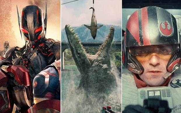 Star Wars, Avengers or Jurassic World: which 2015 movie are you most looking forward to?