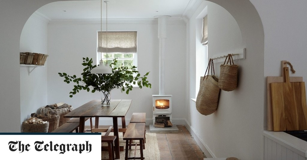 Pared-back, practical and perfectly elegant: inside interior stylist Maria Le Mesurier's Sussex country home