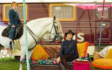What it's like to spend the summer holidays in a vintage circus wagon