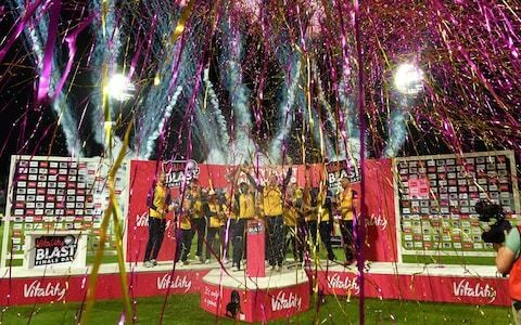 Simon Harmer the hero as Essex Eagles have a blast with thrilling last-ball win against Worcestershire in T20 Final