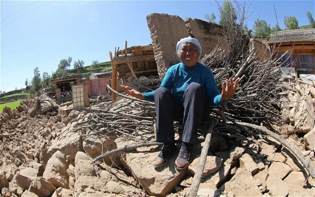 At least 89 dead as earthquake strikes western China