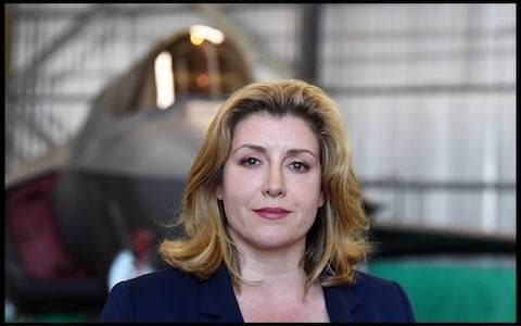 RAF moving closer to becoming an air and space force, Penny Mordaunt says