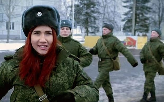 Former Russian spy Anna Chapman features in Putin army recruitment video